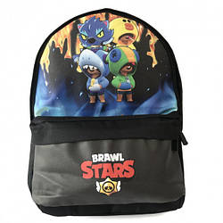 Подростковый городской рюкзак Бравл Старс Brawl Stars