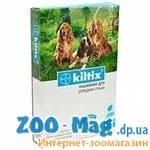 Ошейник от блох и клещей КИЛТИКС (Bayer, Байер) 48см для средних собак.