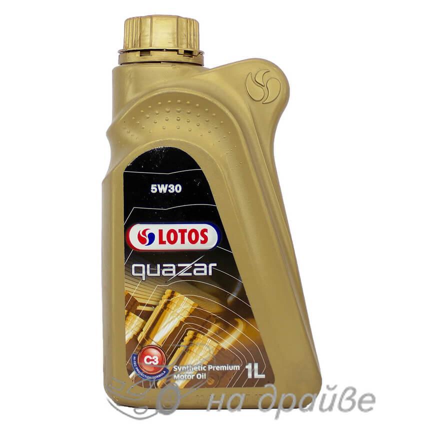 Масло моторное QUAZAR C3 5W-30 1 л Lotos Oil
