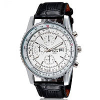 Ручні годинники ЧОРНІ 8208