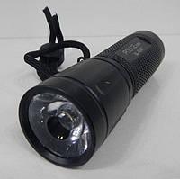 Фонарик ручной Bailong Police BL-8047 от батареек ААА, 100лм, луч до 90м, противоударный, светодиодный фонарь, фото 1