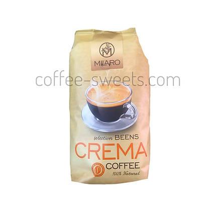 Кава зернова Milaro Crema 1 kg, фото 2