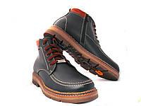 Ботинки мужские кожаные качественные, фото 1