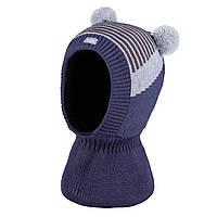 Зимняя шапка-шлем для мальчика TuTu арт. 3-005231(42-46, 46-50)