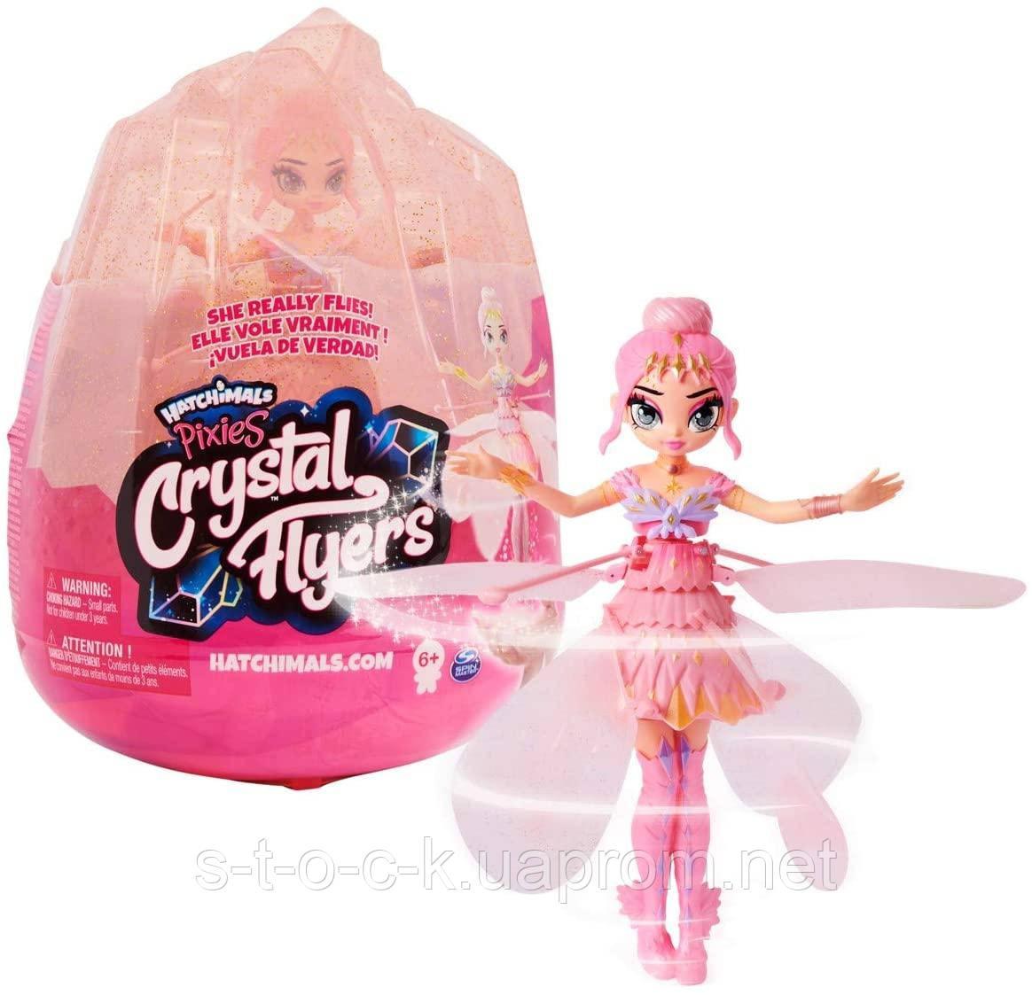 Кукла Hatchimals 6059523 - Pixies, Волшебная летающая кукла Pink Magical Flying Pixie Toy, для детей от 6 лет