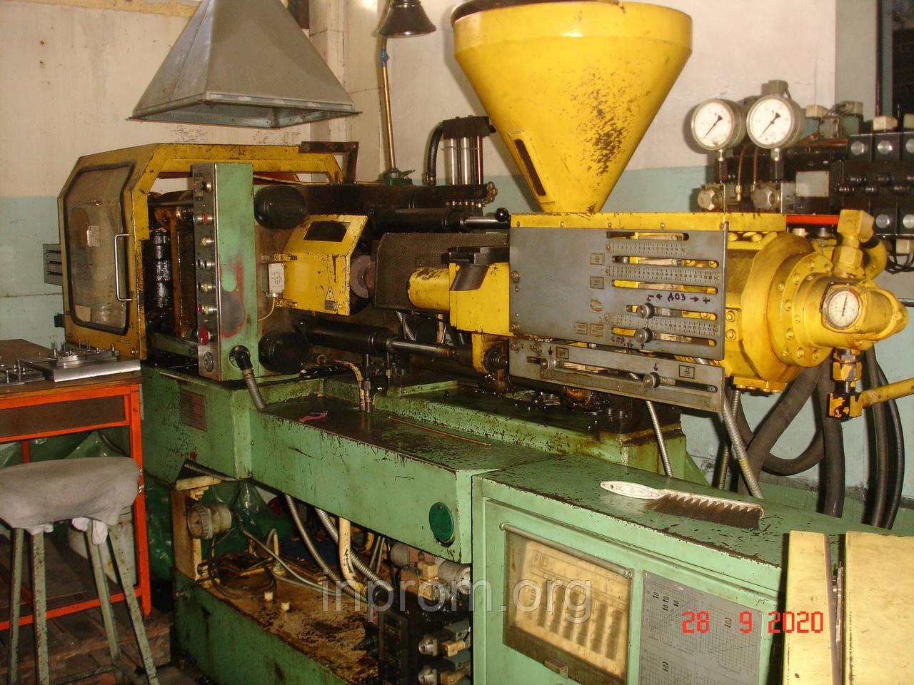 Термопластавтомат ДЕ 3330Ф1 зусиллям 100т, в робочому стані