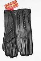 Перчатки кожаные женские 12201
