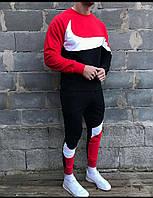 Спортивный костюм теплый мужской Nike. Брендовый спортивный костюм Nike Air(утепленный на флисе)