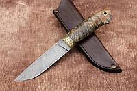"""Дамасский нож ручной работы """"Грибной"""", 245мм"""