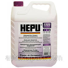 Антифриз фіолетовий концентрат HEPU G12+ 5л