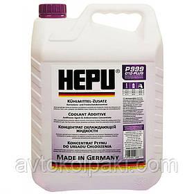 Антифриз фиолетовый концентрат HEPU G12+ 5л