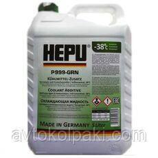Антифриз готовый зеленый HEPU G11 READY MIX 5л