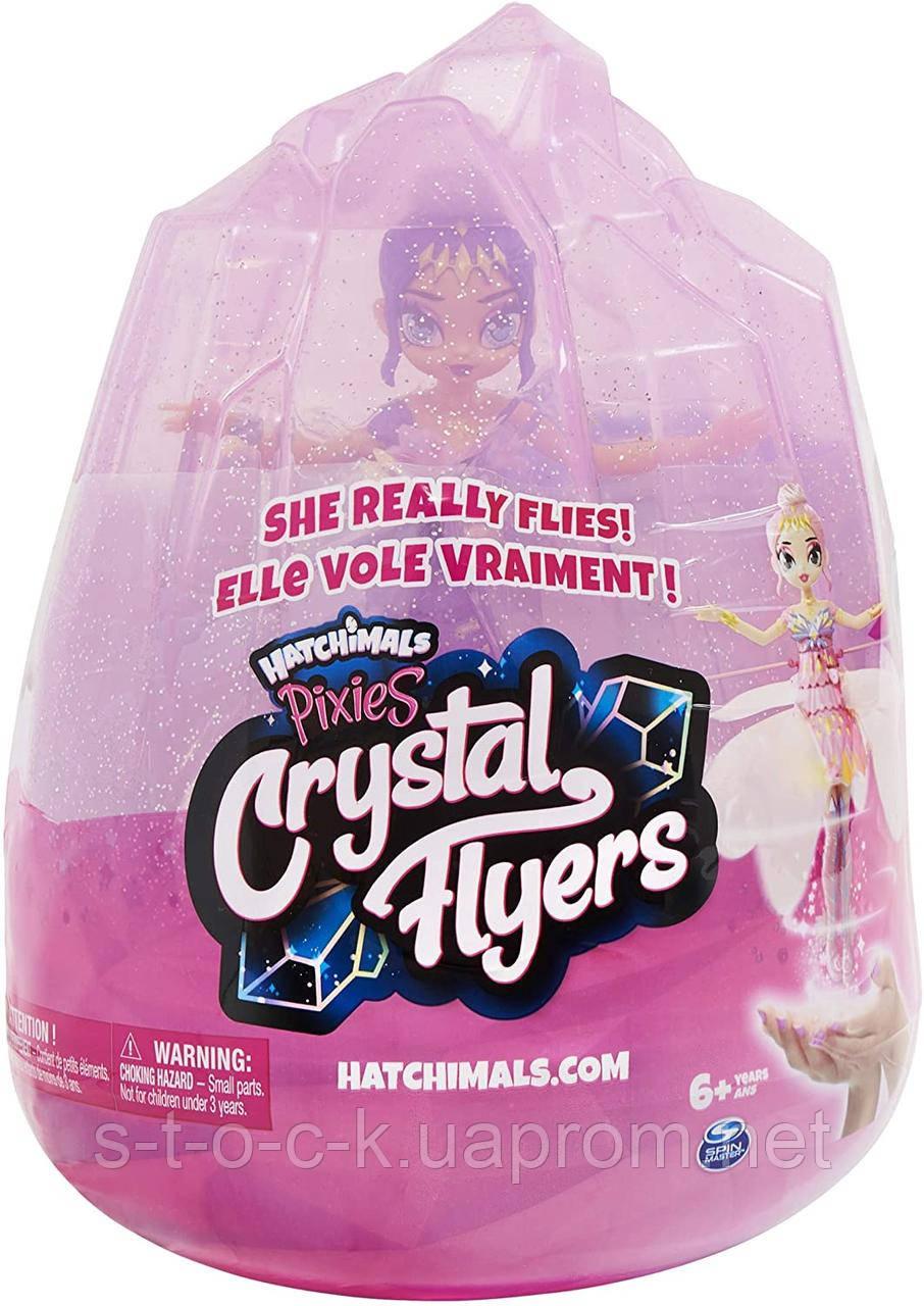 Лялька Spin Master Hatchimals Pixies Crystal Flyers Purple Чарівна літаюча іграшка Pixie