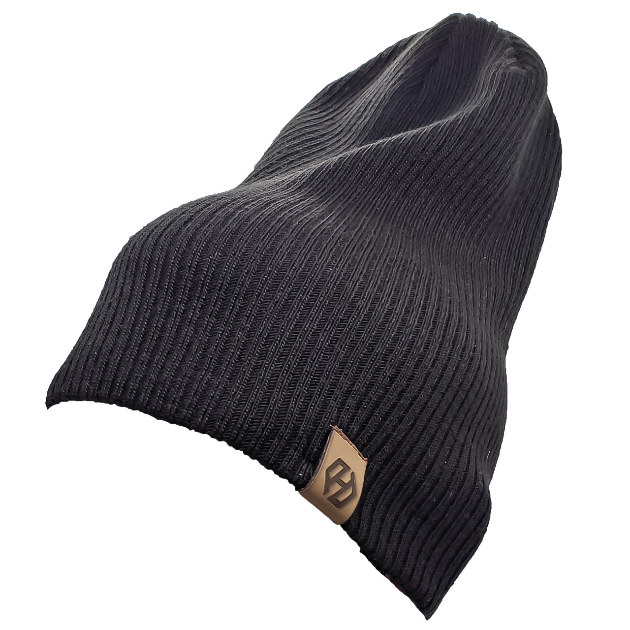 Шапка моднаяТрансформер HatsLight kinoro унисекс размер взрослый, черная