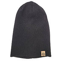 Шапка моднаяТрансформер HatsLight kinoro унисекс размер взрослый, черная, фото 2