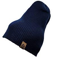 Шапка моднаяТрансформер HatsLight kinoro унисекс размер взрослый, черная, фото 4