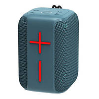 Bluetooth-колонка HOPESTAR-P16, StrongPower, c функцией speakerphone, радио, PowerBank, blue