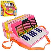 Гармошка детская Веселая гармонь 2003, на батарейках, в коробке