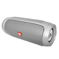 Bluetooth-колонка JBL CHARGE 4, c функцией speakerphone, радио, silver