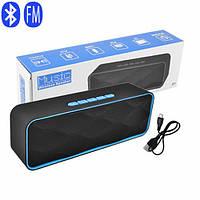 Bluetooth-колонка SC-211, c функцией speakerphone, радио, blue, фото 1