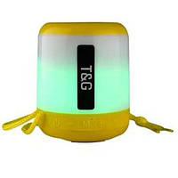 Bluetooth-колонка SPS UBL TG156, c функцией speakerphone, радио, yellow