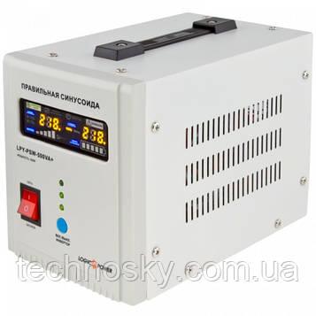 ИБП с чистой синусоидой LogicPower LPY-PSW-500VA +
