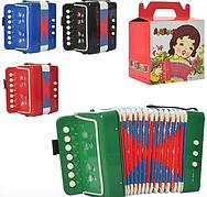 Детская музыкальная гармошка М6429, в коробке