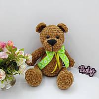 Медведь плюшевая игрушка, ручная работа. Ведмедик плюшевий, іграшка ручної роботи, фото 1