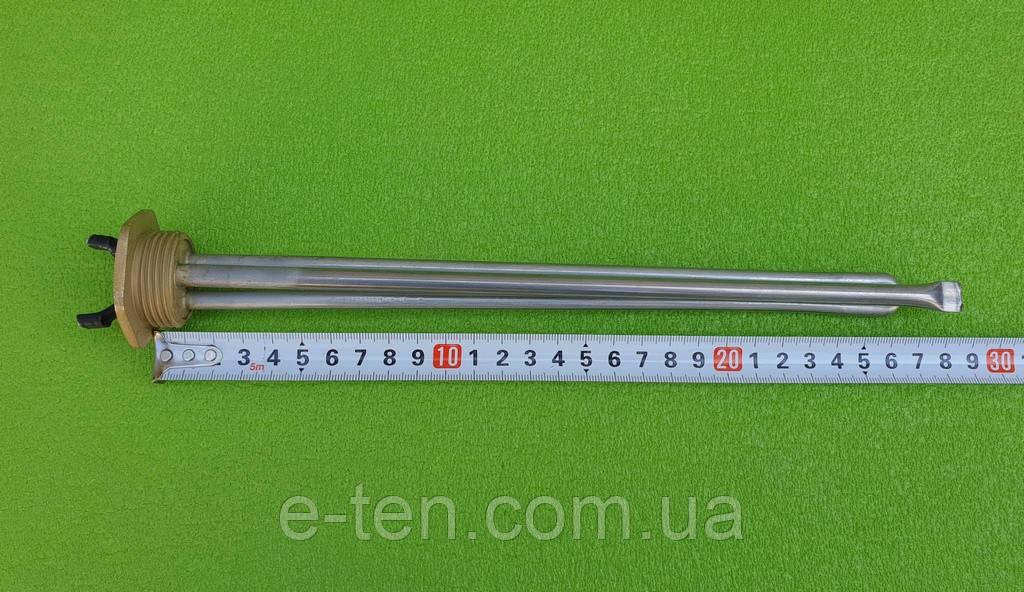 "Тэн нержавейка KAWAI для биметаллического, алюминиевого радиатора 300W / Lдлина=280мм / на резьбе 1"" (32мм)"