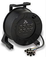 Барабан кабельный с мультикором Roxtone CDAC800L25