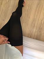 Компрессионные чулки высокие с открытым носком, 1 класс компрессии, от варикоза, S
