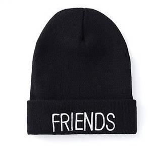 Стильна модна шапка friends