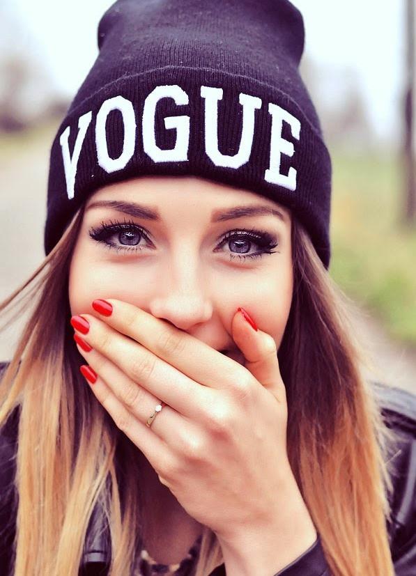 Мега-крутая стильная модная шапка Vogue