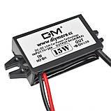Авто адаптер конвертер №3 1х USB навес с 7/12v на 5V 15W преобразователь конвертор инвертор, фото 3