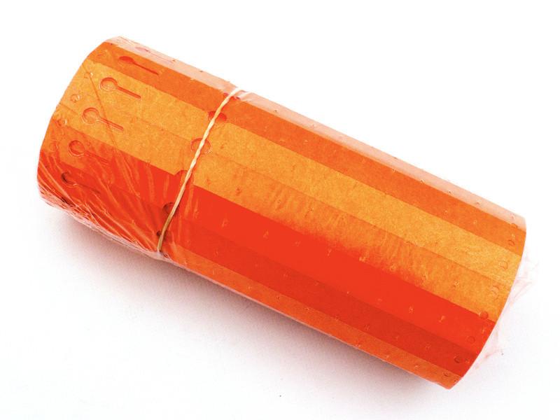 Етикетки-петля для рослин TYVEK 1,7 х 22 см, 1000 шт, помаранчеві - Тивек
