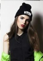 Стильна модна шапка witch