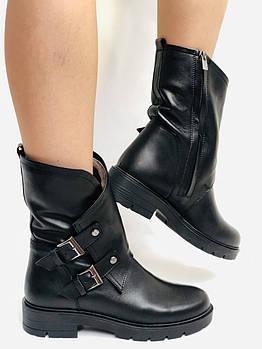 Damlax. Турция. Зимние ботинки на натуральном меху из натуральной кожи. Высокое качество Р.39