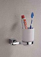 Стакан подвесной керамический BADICO 2702 (chrome plating)