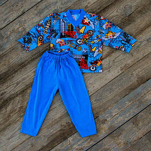 """Удобная детская хлопковая пижама для мальчика """"Мото"""""""