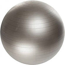 Мяч для фитнеса Фитбол Profit 0276, серебристый