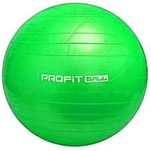 Мяч для фитнеса Фитбол Profit 0383, зеленый