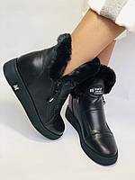 Mario Muzi. Турция. Зимние ботинки натуральный мех, кожа. Размеры 36, 38, фото 3