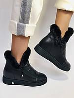 Mario Muzi. Турция. Зимние ботинки натуральный мех, кожа. Размеры 36, 38, фото 2