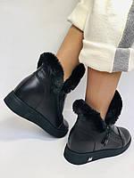 Mario Muzi. Турция. Зимние ботинки натуральный мех, кожа. Размеры 36, 38, фото 9