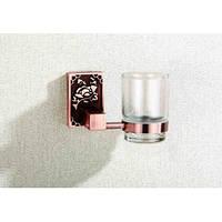 Стакан подвесной стеклянный BADICO 8502 (antik red)