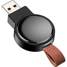 Зарядное устройство беспроводное Qi Baseus WXYDIW02-01 Dotter для Apple Watch, черное