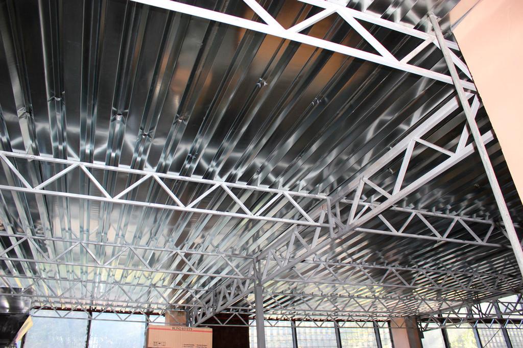 Проектирование, изготовление несущих конструкций цеха