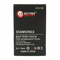 Аккумулятор для телефона Extradigital HTC Touch Diamond 2, 850 mAh (DV00DV6081)