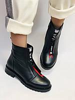 Evromoda Турция зимние ботинки на натуральном меху из натуральной кожи.  Р 37.38.40., фото 2