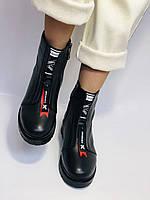 Evromoda Турция зимние ботинки на натуральном меху из натуральной кожи.  Р 37.38.40., фото 5